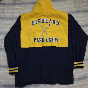 RARE Highland Park Row Crew Vented Pullover Jacket